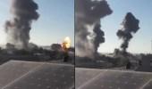 شاهد.. لحظة تدمير قوات الاحتلال لمقر جهاز الأمن الداخلي لحماس