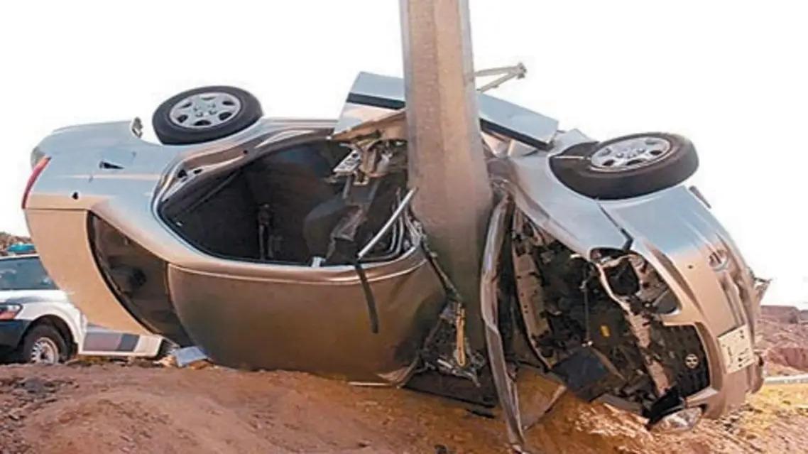 النقل: نسبة الحوادث انخفضت إلى 56%