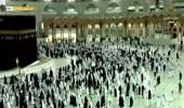 """بالفيديو .. """"السديس"""" يعلن عن موعد صلاة التهجد في الحرم المكي"""