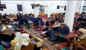 """بالصور..الحوثيون يتعاطون """"القات"""" داخل المساجد في رمضان"""