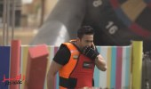 بالفيديو.. إصابة حمادة هلال في برنامج رامز عقله طار