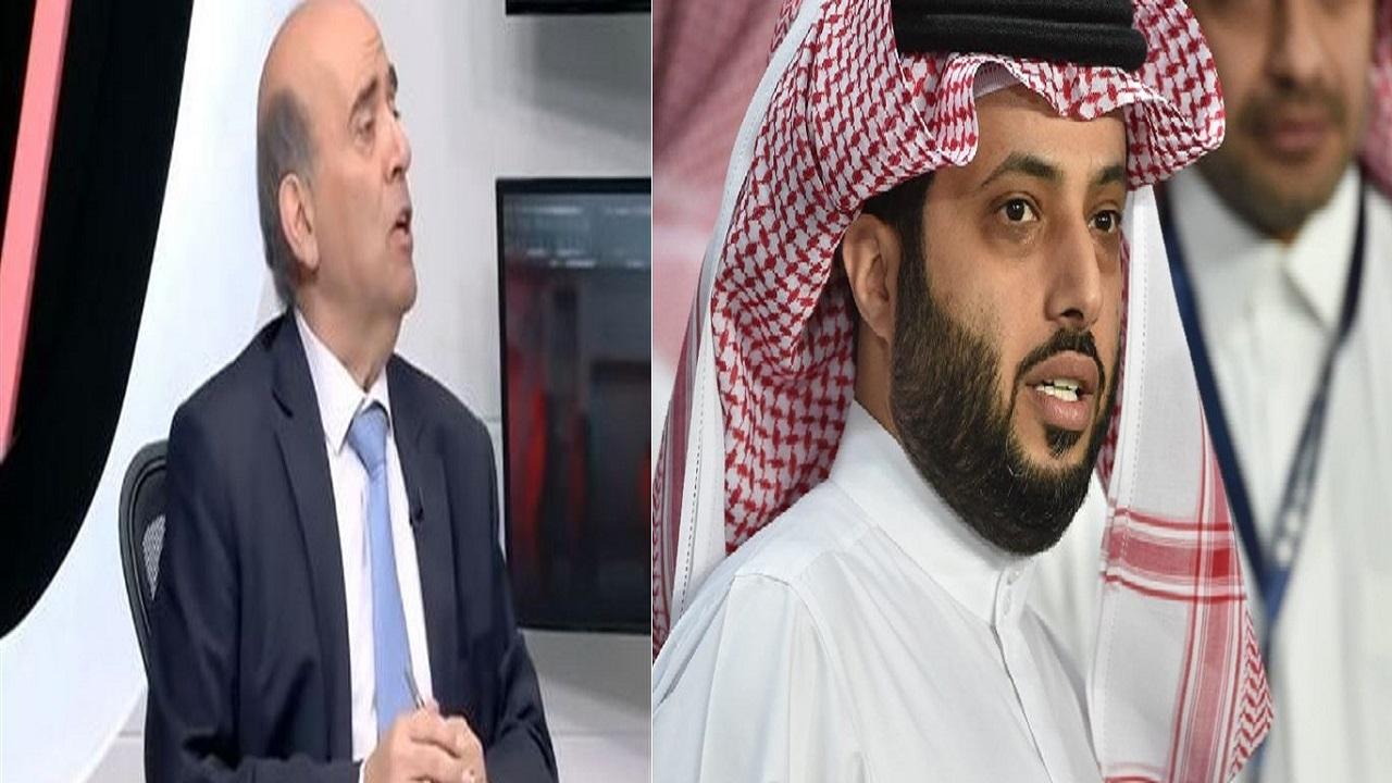 تركي آل الشيخ يرد على تصريحات شربل وهبة: افتخر إني بدوي