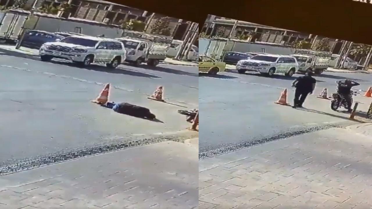بالفيديو.. عراقي ينجو بأعجوبة من محاولة قتل