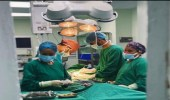فريق طبي بمستشفى أبها الخاص ينجح في استئصال ورم كيسي كبير بالمنظار الجراحي