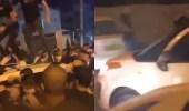 شاهد..مصير مستوطن حاول دهس متظاهرين فلسطينيين
