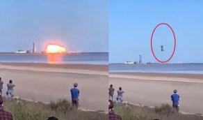 حقيقة مقطع سقوط الصاروخ الصيني في الهند