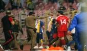 مشاهد فاضحة بين الجهازين الفنيين واللاعبين عقب مباراة  النصر والوحدة