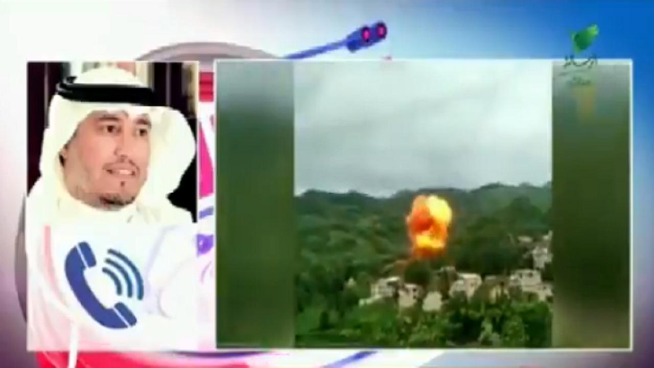 """بالفيديو.. """" المسند """" يكشف أضرار سقوط الصاروخ الصيني"""