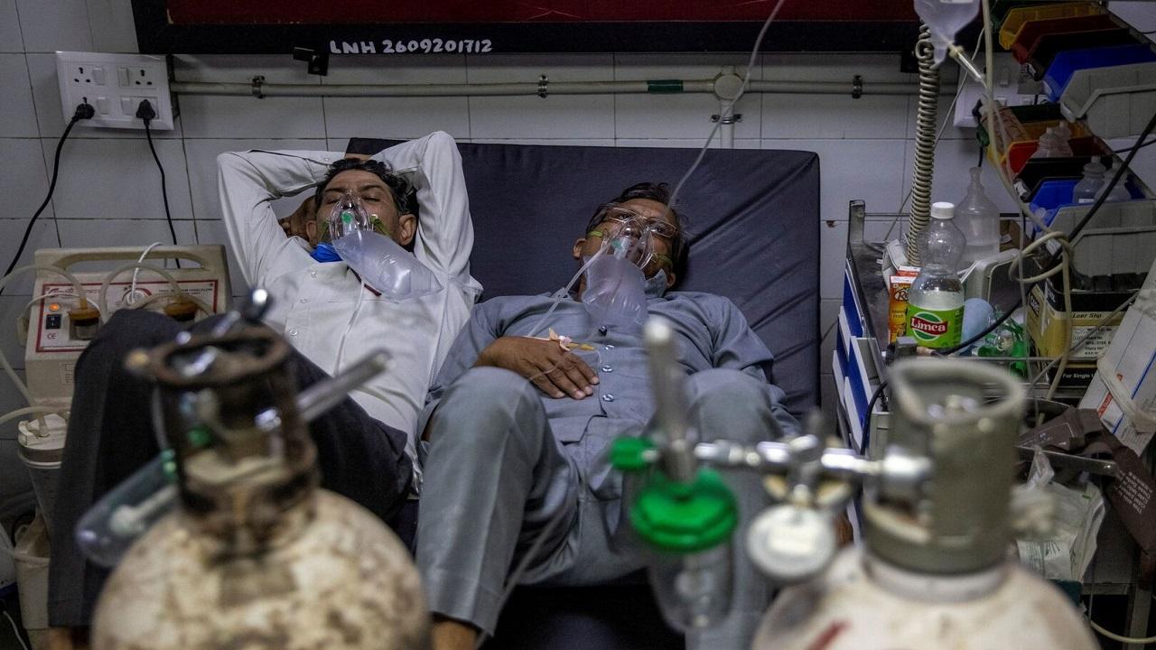 رقم صادم لإصابات كورونا في الهند خلال 24 ساعة