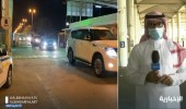 عبور 310 مركبة إلى دولة قطر عبر منفذ سلوى