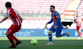 بالصور.. أتلتيكو مدريد يحافظ على الصدارة بعد تعادله مع برشلونة
