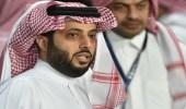 إصابة تركي آل الشيخ خلال مباراة كرة طائرة