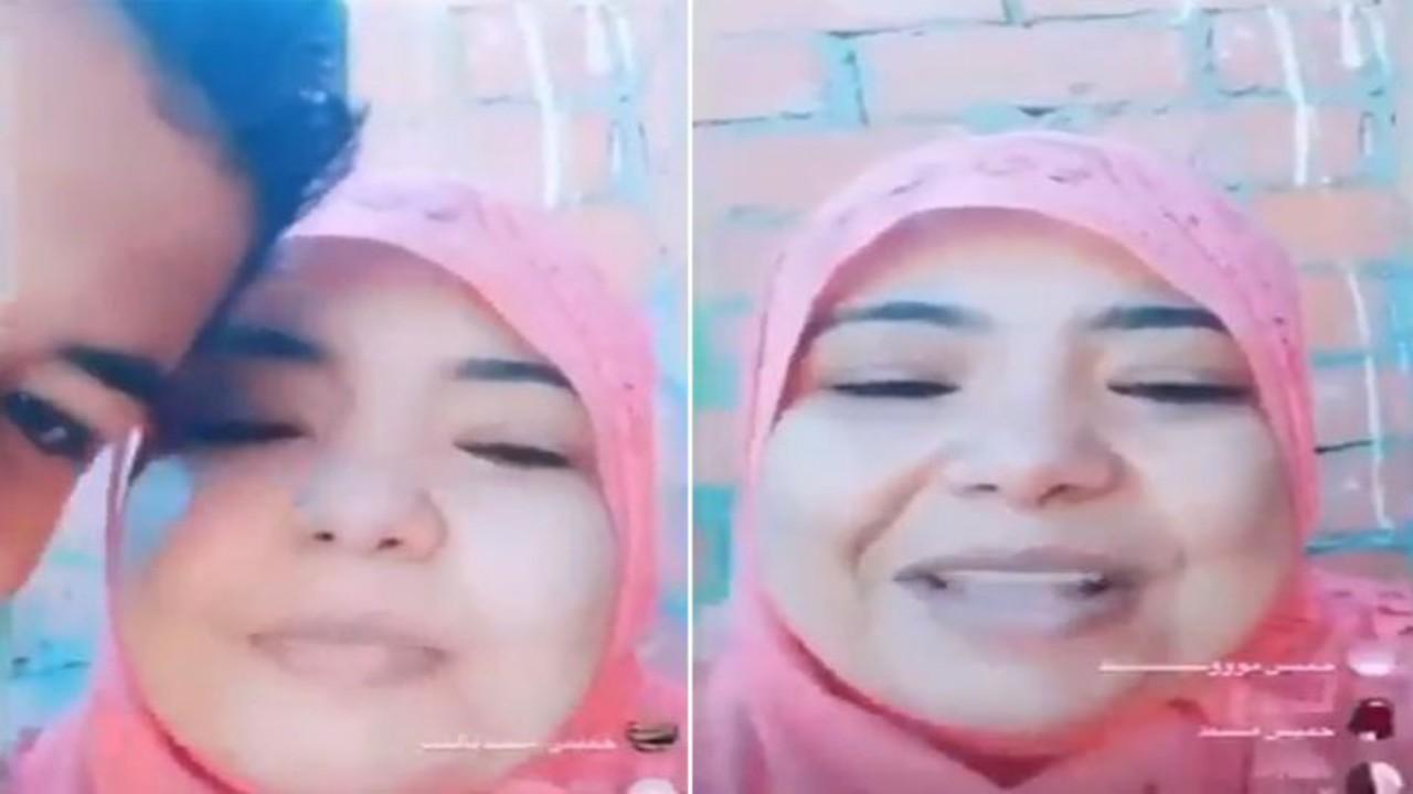 """شاهد.. فيديو طريف لفتاة تخطئ في نطق خميس مشيط وتقول: """" خميس متشعبط """""""