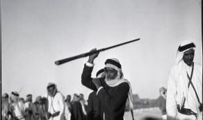 صورة من احتفالات العيد في الجبيل قبل 86 عام