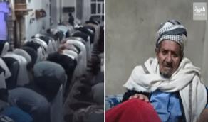 شاهد.. مسلح حوثي يقتل إمام مسجد أثناء صلاة التراويح