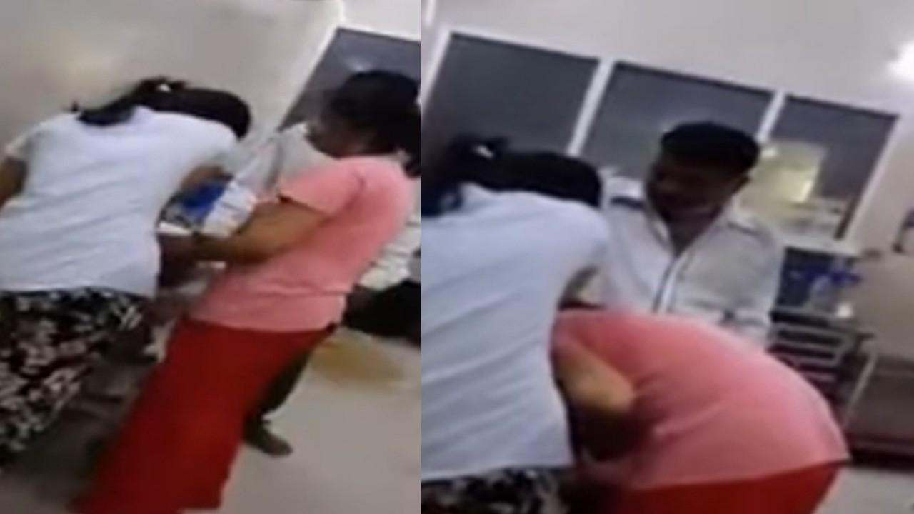 بالفيديو.. فتاة تحاول إنقاذ والدتها المصابة بفيروس كورونا بـ «الإنعاش الفموي»