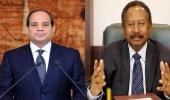 رئيس وزراء السودان يعلق على تهديد السيسي بالحرب حال التضرر من سد النهضة