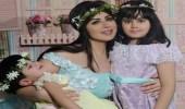 بالفيديو.. حليمة بولند تظهر مع ابنتيها بعدما تغيرت ملامحهما