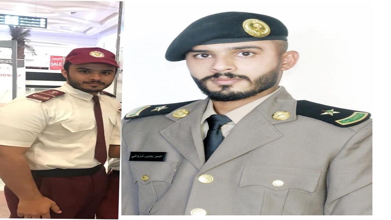 بعد عمله حارس أمن.. الغزواني يتخرج من كلية الملك فهد الامنية برتبه ملازم