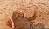 صورة عظيمة ونادرة لخادم الحرمين الشريفين في أجواء بدوية أصيلة