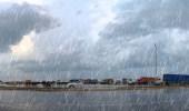 توقعات بهطول أمطار رعدية على معظم المناطق بدءاً من الغد