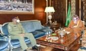 بالصور.. الأمير خالد بن سلمان يبحث مع قائد الجيش الباكستاني آفاق التعاون بين البلدين