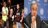 أمين عام الأمم المتحدة يحث إسرائيل على ضبط النفس