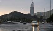 الأرصاد تنبّه بهطول أمطار رعدية على المحافظات الشرقية لمكة