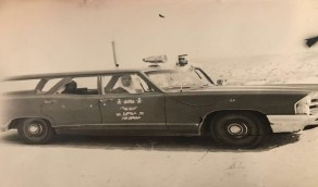 صورة نادرة لـ أول سيارة شرطة نجد بالمنطقة الشرقية