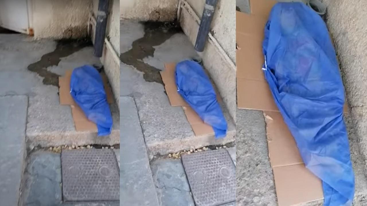 بالفيديو.. إلقاء جثة طفل على الأرض داخل مستشفى لسبب غريب
