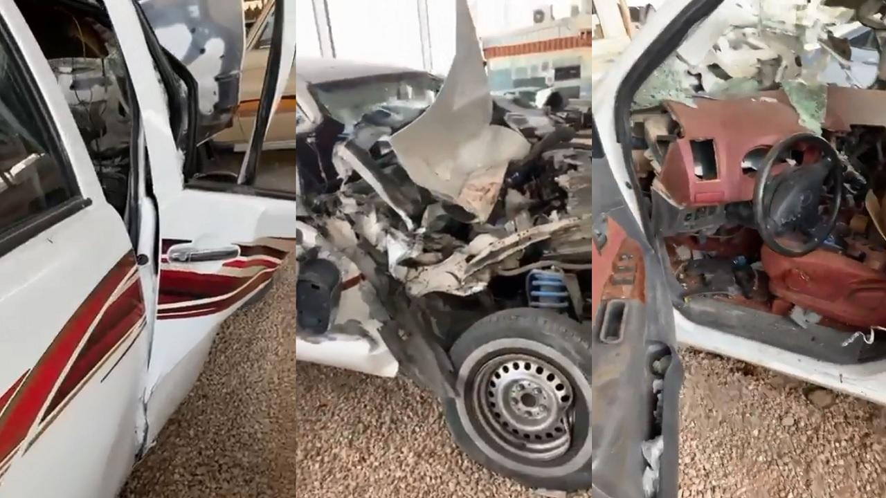 بالفيديو.. مواطن يتعرض لحادث مروع بسبب انشغاله بالجوال لـ 5 ثوانٍ
