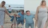 رجل وزوجته يحطمان رقم قياسي لأكبر فارق طول بين زوجين في العالم