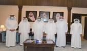 أمين الشرقية يستقبل رئيس اللجنة الوطنية العقارية بمجلس الغرف السعودية