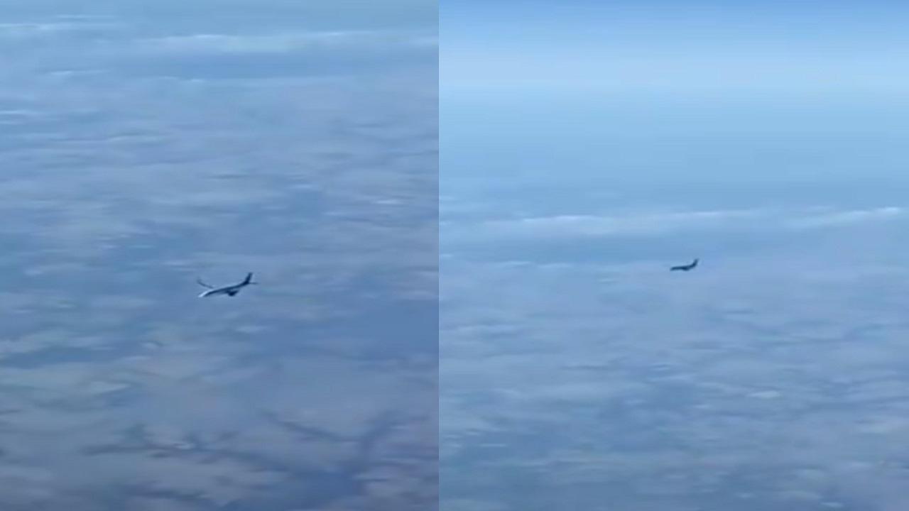 فيديو.. طيار مدني يفسر السبب وراء تحليق طائرة بشكل جانبي