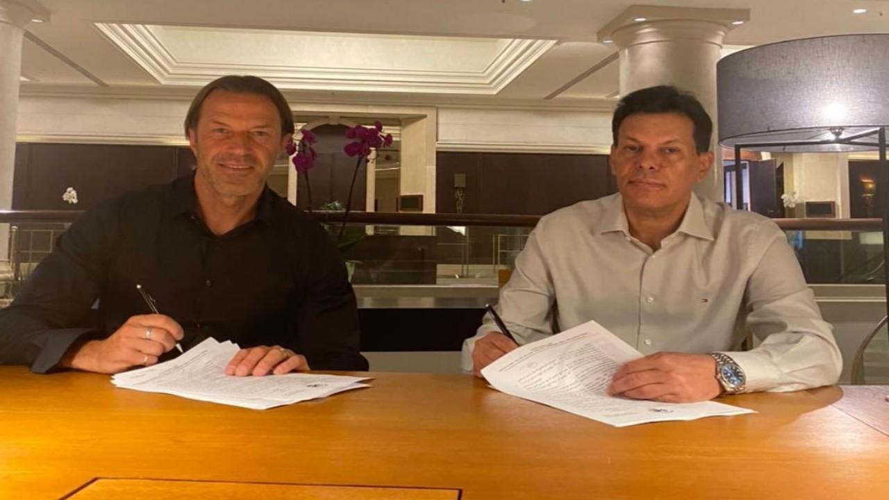بالصور.. الفيصلي يتعاقد مع الإيطالي باولو تراميزاني