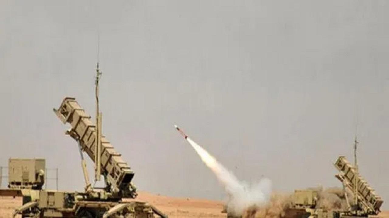 اعترض مسيرتين مفخختين أطلقتهما الميليشيات الحوثية باتجاه خميس مشيط