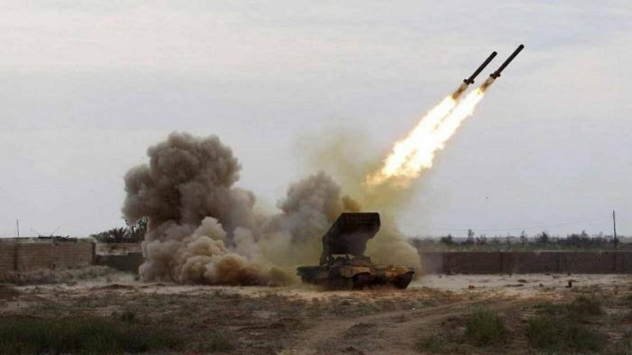 اعتراض طائرة مسيرة مفخخة أطلقها الحوثيون تجاه خميس مشيط