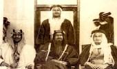 صورة تاريخية تجمع الشيخ أحمد الصباح والملك سعود بن عبدالعزيز