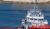 """أولى سفن معالجة التلوث النفطي تصل إلىالمملكة"""" فيديو """""""