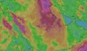 بالصور.. «المسند»: رياح الصبا تشتد وتثير الغبار على بعض المناطق
