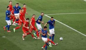 إيطاليا تهزم ويلز ويتأهلانلثمن نهائي يورو 2020