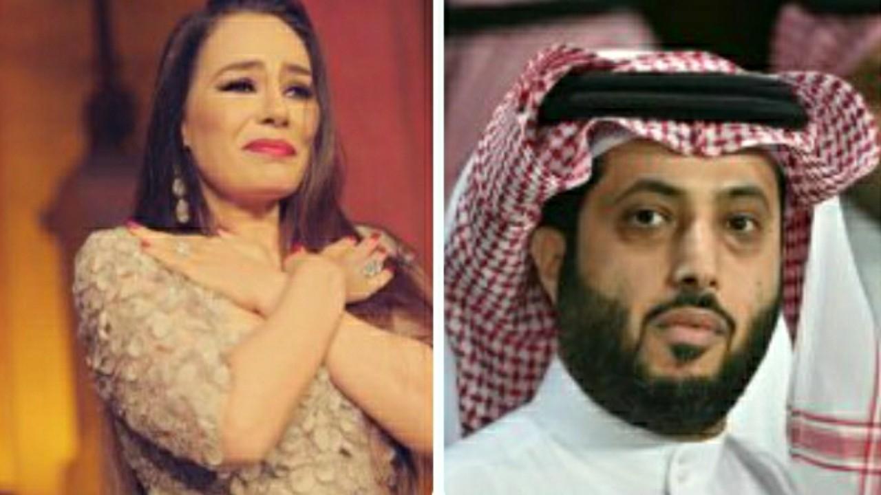 """بالفيديو.. تركي آل الشيخ يعلن عن عودة """" شريهان """" بعد غياب سنين"""
