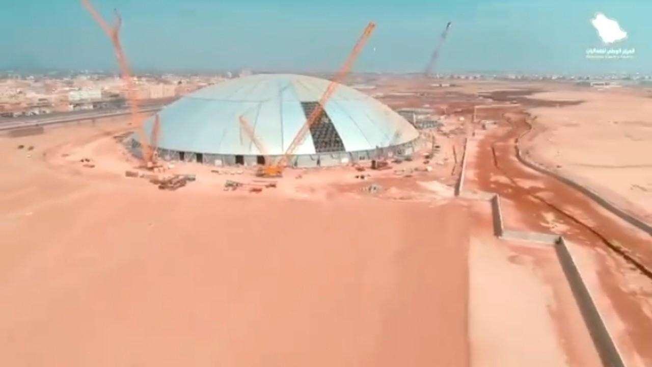 بالفيديو.. إعلان جاهزية تدشين مشروع جدة سوبردوم أكبر قبة بلا أعمدة في العالم