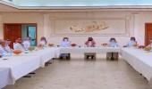 مدير الموارد البشرية بتبوك يجتمع بمدراء المكاتب والادارات بالمنطقة