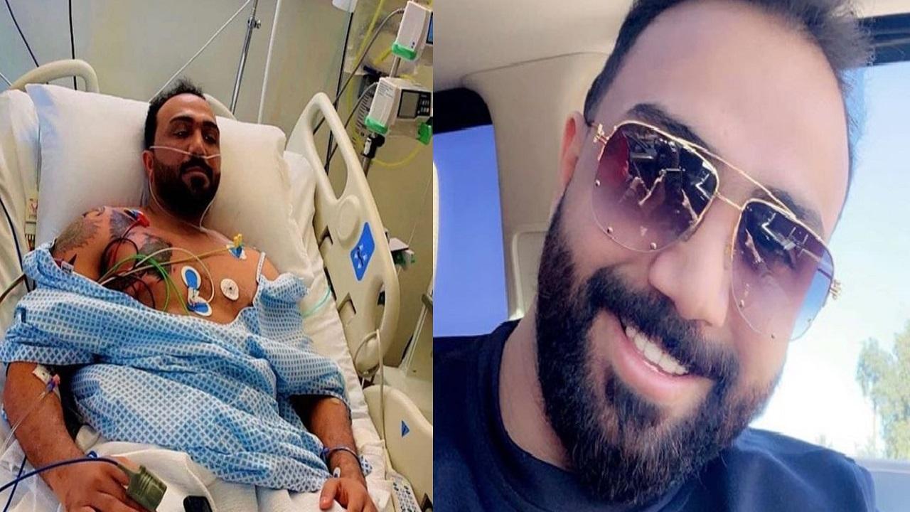 نقل مصطفى العبدالله إلى المستشفى
