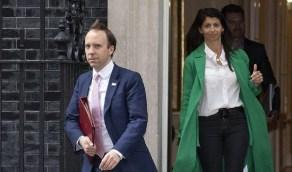 وزير الصحة البريطاني يواجه فضيحة أخلاقية