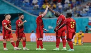 بلجيكا تضرب فنلندا بثنائية في يورو 2020