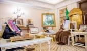 أمير القصيم يستقبل الحربي بمناسبة تعيينه مديراً اقليمياً لفروع بنك التنمية بالمنطقة الشمالية