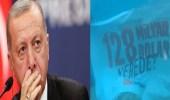 """رسالة من تحت الماء لأردوغان: """"أين الـ 128 مليار دولار"""""""