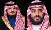 """وزير الداخلية لولي العهد: """"لكل ملهم إنجاز وبأرواحنا نفديك"""""""